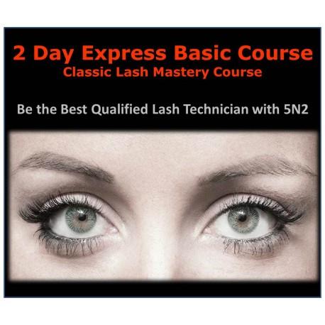 2Day Classic Lash Mastery Course